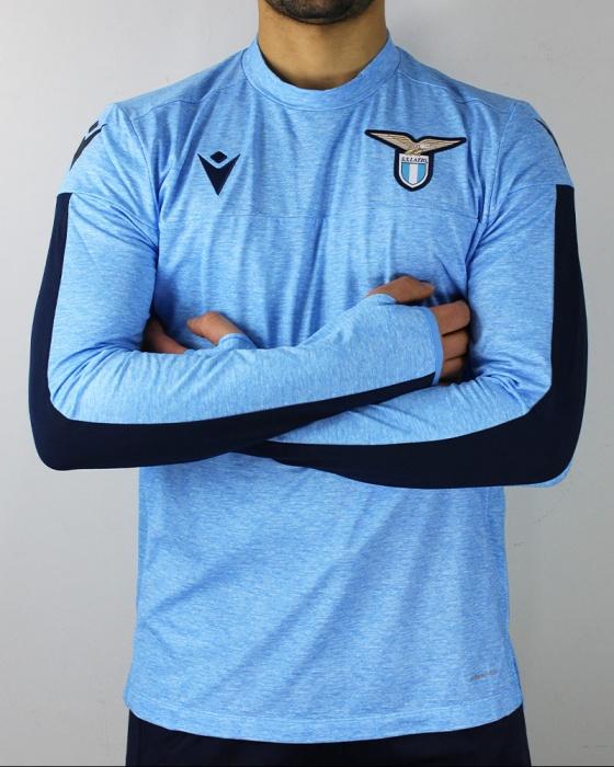 SS Lazio Macron Felpa Allenamento Training Sweatshirt Azzurro 2019 ...