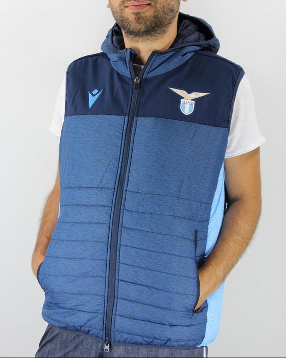 Diadora Bomber Piumino Giubbino Blu Smanicato Gilet 2019 20 hd light jacket