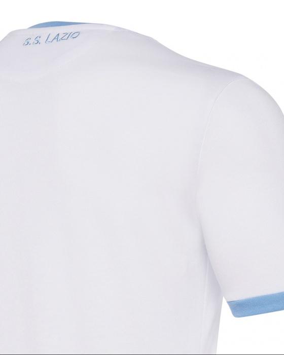 Detalles de Ss Lazio Macron Camiseta Shirt Match Hombre Taza Italia 1958 Algodón