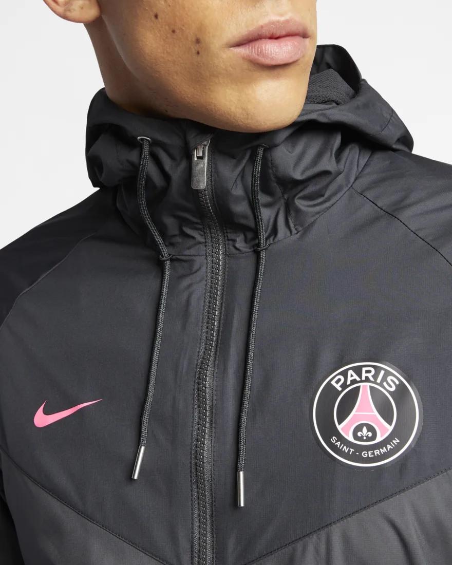 PSG NIKE SPORT Jacke Jacket Windrunner Grau 2019