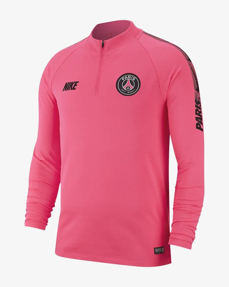 huge discount 24eab 84d34 Details about PSG Nike Drill Training Top Sweatshirt Pink 2019
