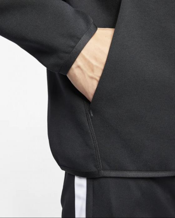 Dettagli su PSG Nike Giacca Sportiva Sport Jacket Uomo Nero Sportswear Tech Fleece Cotone