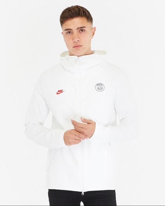 Détails sur PSG Training Jacket Veste 2019 20 Tech Pack blanc coton