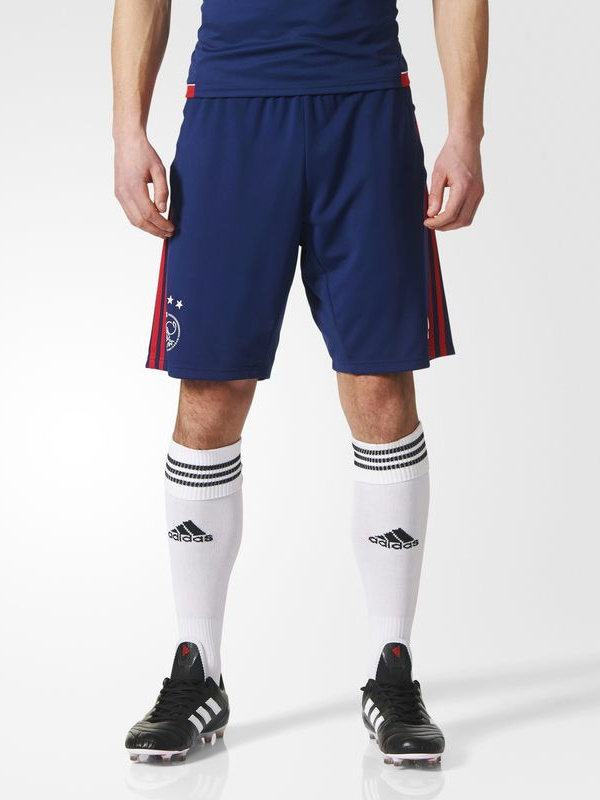 Ajax-Amsterdam-Adidas-Pantaloncini-Shorts-Uomo-Blu-2017-18