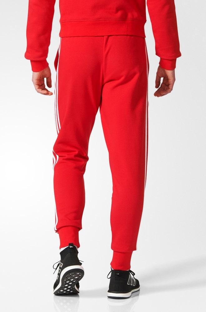 pantaloni adidas tuta uomo rosso
