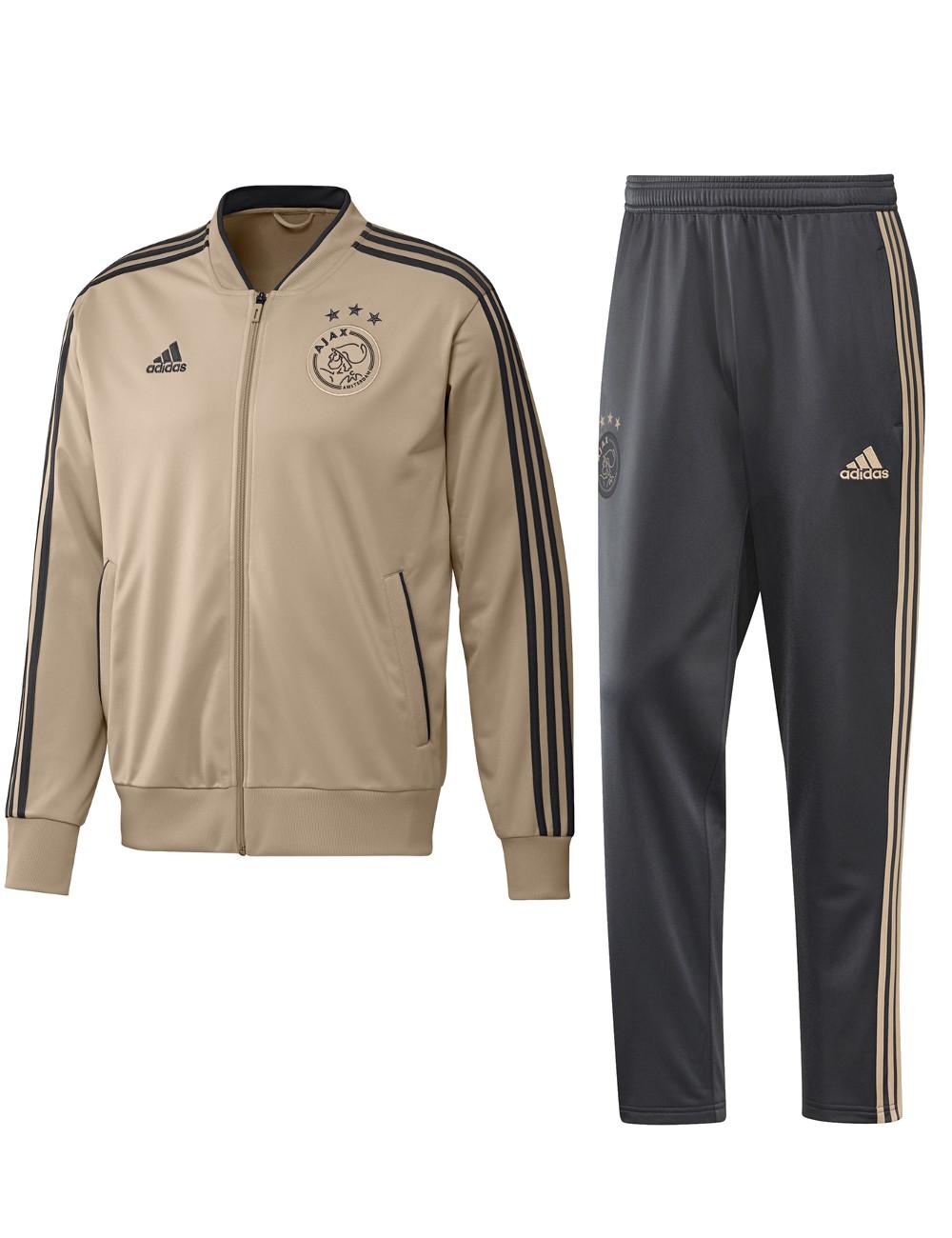 Ajax Amsterdam Adidas Survetement Training Or Cheville coupe avec zip 2018  19 5 5 sur 8 ... 0a815a8cf69