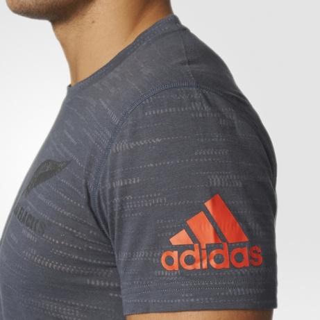 Shirt Loisirs Sur Homme Blacks New Tee Gris Détails Zealand Performance All T Adidas 2017 Pw8OkNn0X