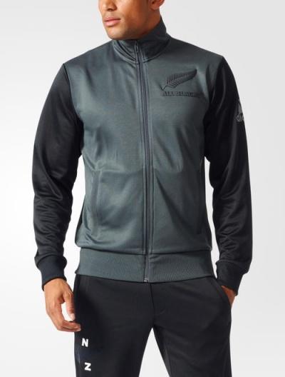 ... Giacca Allenamento All Blacks grigio Originale adidas Supporters Track  Top Uomo 2017 - Training Jacket adidas e3c8369f77