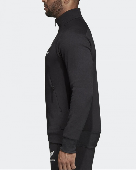All Blacks New Zealand Adidas Training Jacke Jacket Halber Reißverschluss   eBay
