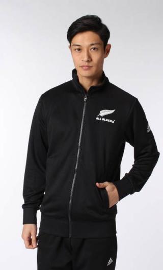 Détails sur Essential Track Top All Blacks New Zealand Adidas Training Jacket 2016 17 Noir
