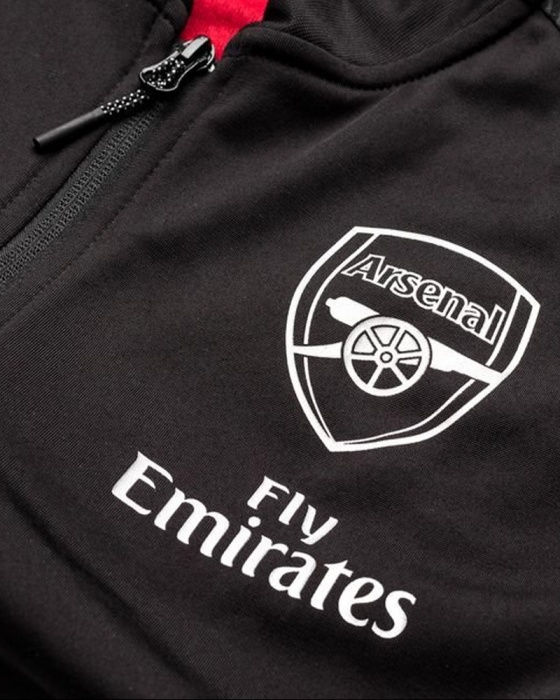 Arsenal Fc Puma Pre Match Jacket 2019 Stadium Black