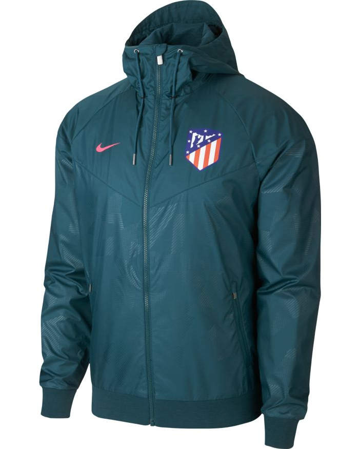 Nike Pioggia Atletico Originale Giacca Allenamento Madrid Kway Vento Rw7BqB8