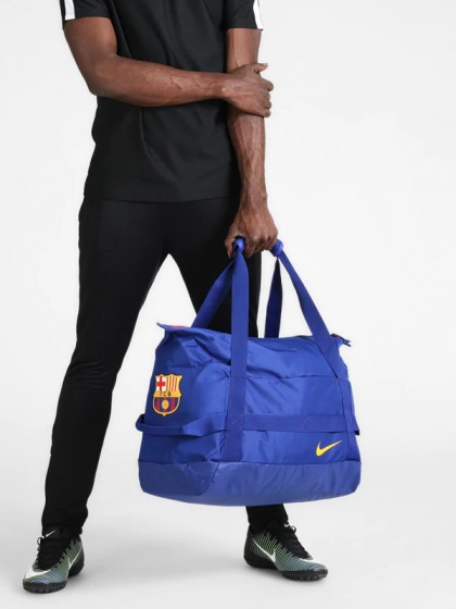 Barcellona Nike Borsa Holdall Duffle bag Stadium Football Duffel Bag Blu