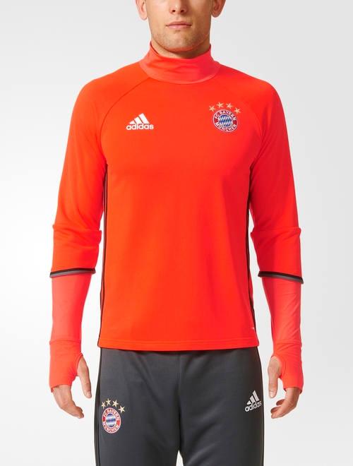 Bayern-Munchen-Adidas-Survetement-Training-orange-2016-17-Homme