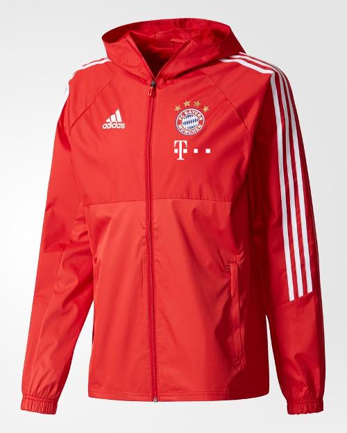 Bayern-Monaco-Adidas-Sponsor-T-Mobile-Giacca-anti-Vento-Pioggia-2017-18-Uomo