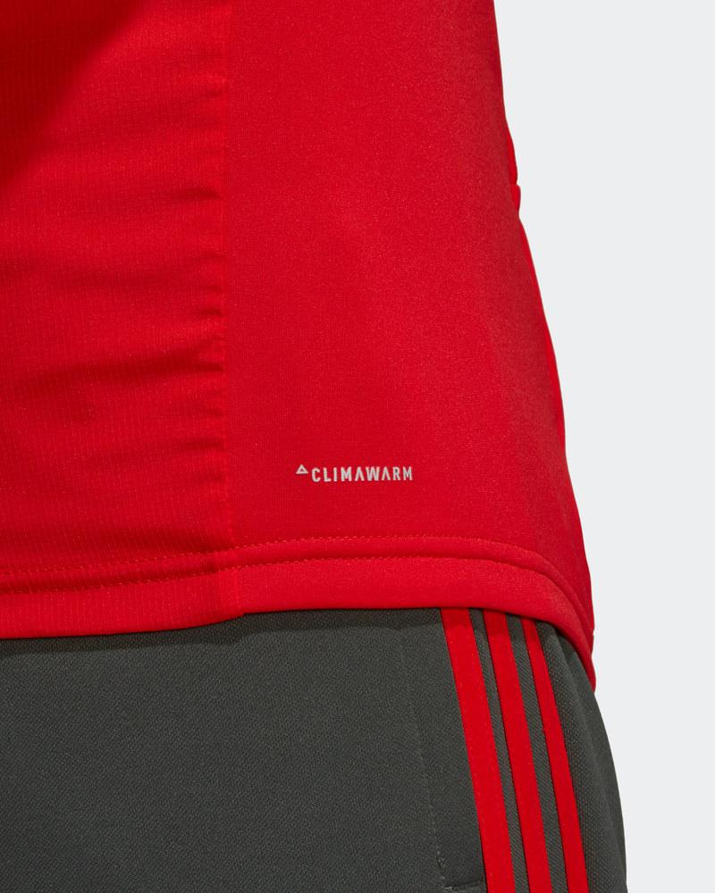 Bayern Monaco Adidas T-Mobile Sponsor Felpa Allenamento Warm Top Rosso 2018  19 3 3 di 7 ... c6662d7ec3c6