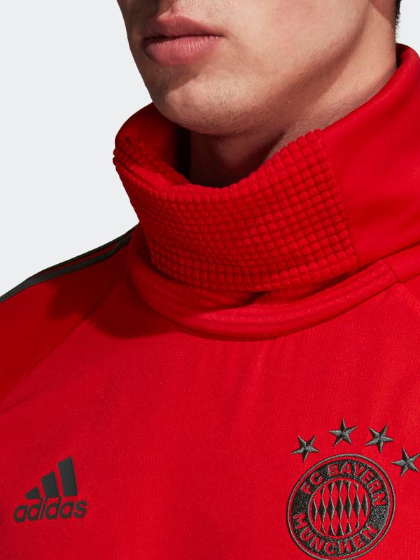 Bayern Monaco Adidas T-Mobile Sponsor Felpa Allenamento Warm Top Rosso 2018  19 6 6 di 7 ... 8f20b66dcb22