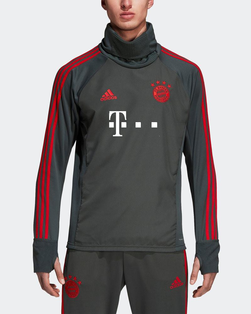 b676ada196b Bayern Munchen Adidas T-Mobile sponsor Training Sweatshirt Warm Top ...