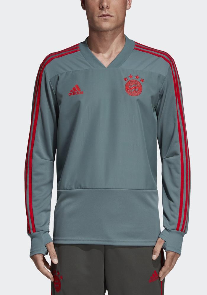 Bayern Munchen Adidas Training Top Sweatshirt 2019 Climalite