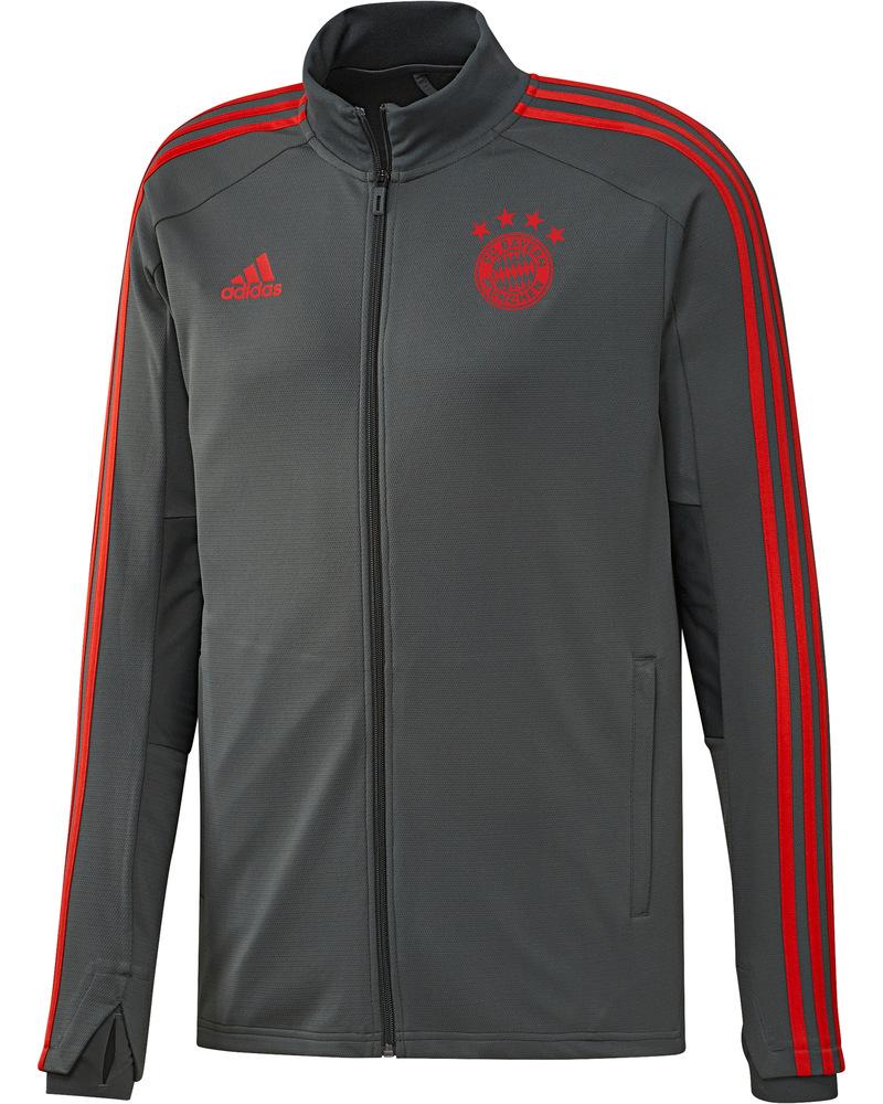 dd6778ed86c ... 5 sur 8 Bayern Munchen Adidas Survetement Training 2018 19 Gris 6 Bayern  Munchen Adidas Survetement Training 2018 19 Gris 6 6 sur 8 ...