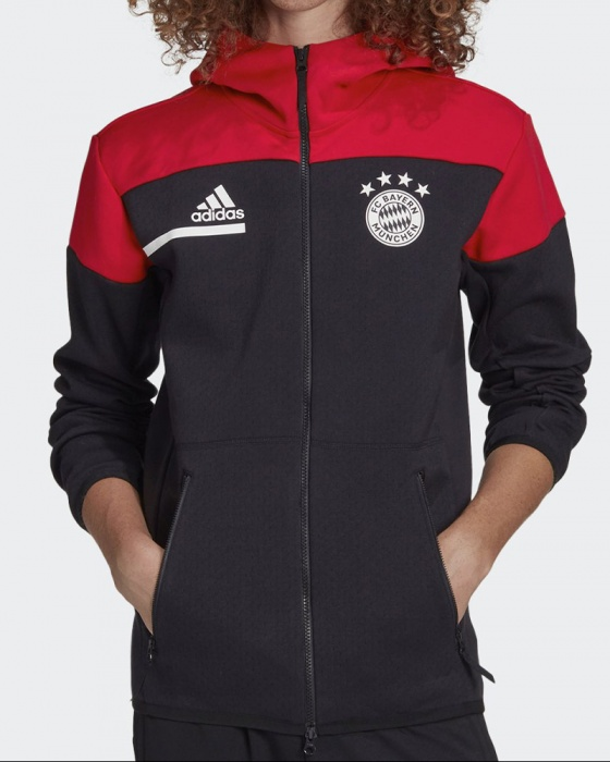 Bayern Monaco Adidas Giacca Tuta Pre gara pre match 2020 21 Anthem ...