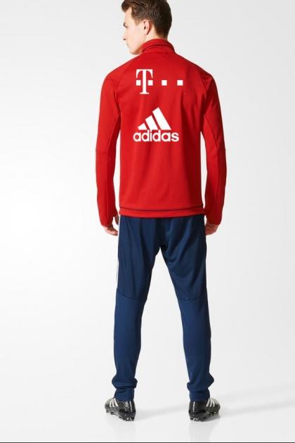 ... Tuta allenamento Bayern adidas T MOBILE Sponsor Rosso uomo originale 2017  18 - Training Tracksuit bayern 175ea66578f2