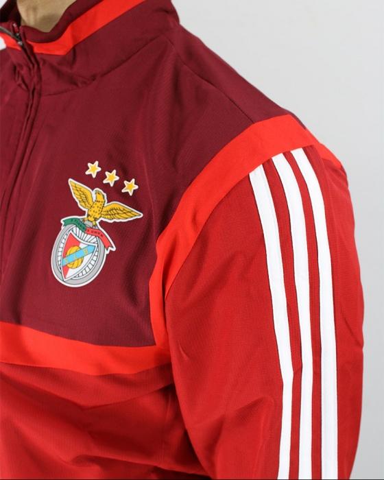 Benfica Adidas Presentation suit Jacket Jacke Jacket Rot