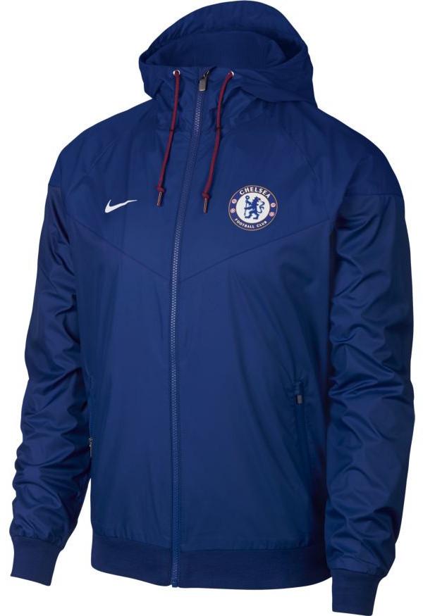 Chelsea-Fc-Nike-Giacca-Sportiva-Sport-Jacket-2018-19-Windrunner-Blu