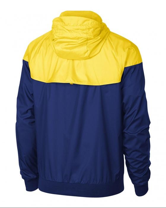 ... Giacca Sportiva Chelsea FC Nike Authentic Windrunner Uomo 2018 19 Blu  Giallo Originale - Sport Blazer ... 83810c7d05d3
