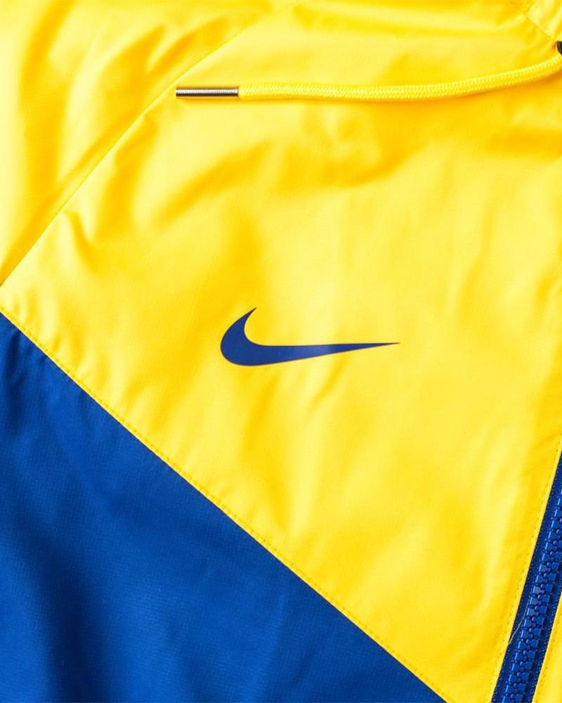 Veste chelsea bleu et jaune