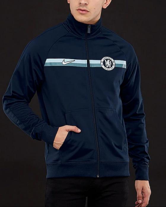 Track jacket da calcio Chelsea FC Dri FIT Squad Uomo