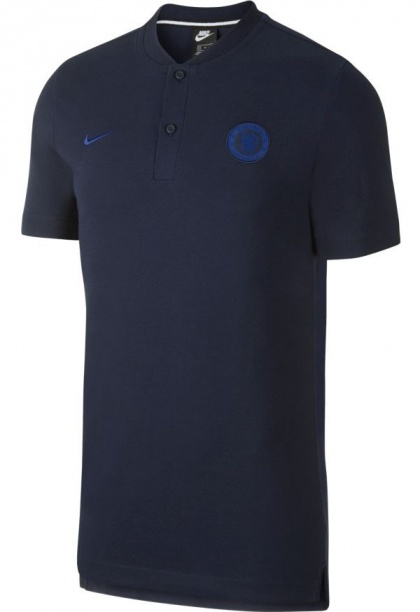 Details about Chelsea Fc Nike Polo Shirt Men Navy Authentic Sportswear 2019 20 Cotton