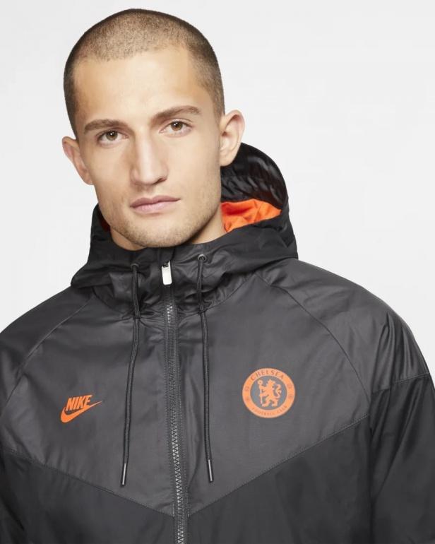 Détails sur Chelsea Fc Nike Sport Jacket Veste 2020 Windrunner Noir