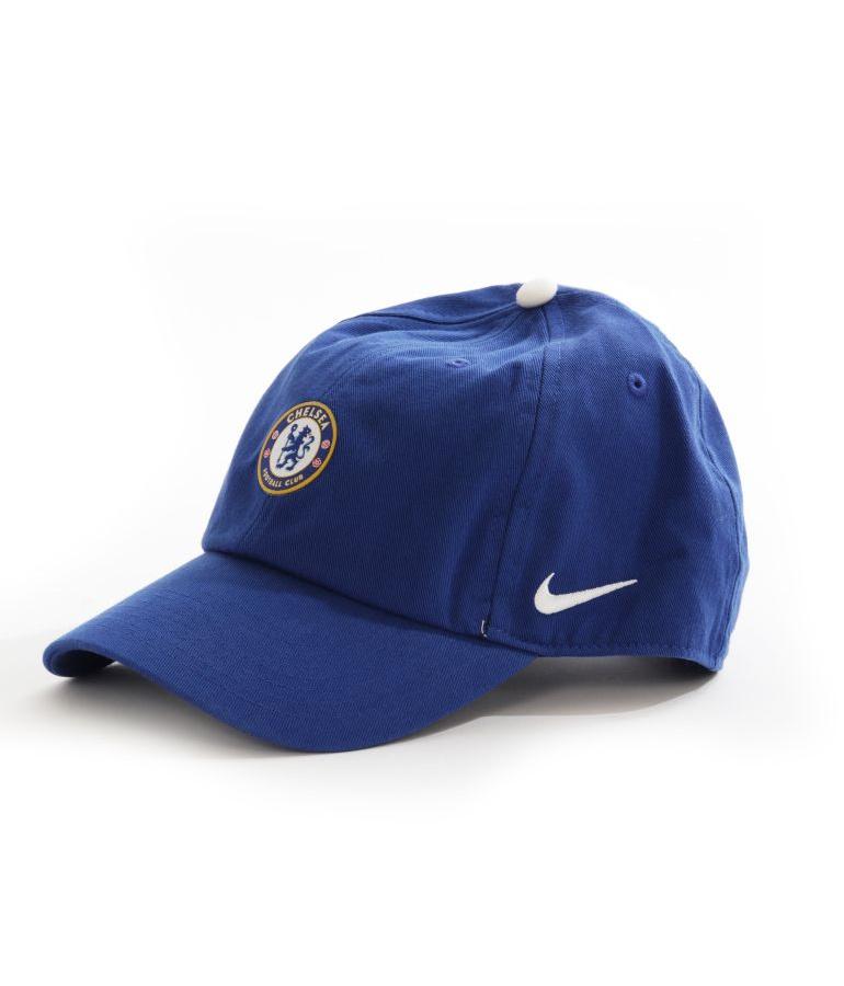 Chelsea FC Nike Hat Cap Hat Unisex Blue 2017 18 Heritage 86 Cotton ... 2000e493811