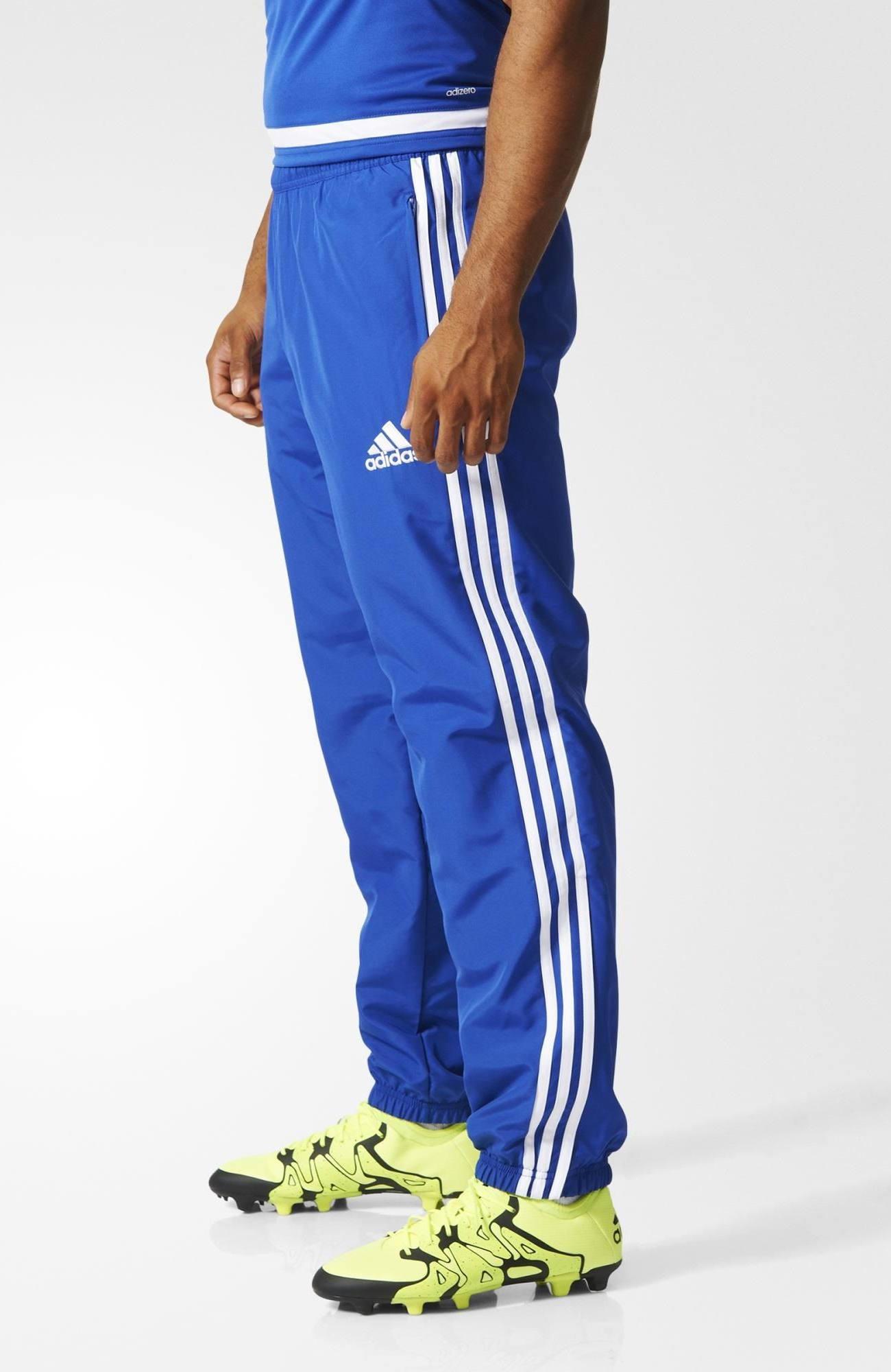 tuta adidas blu