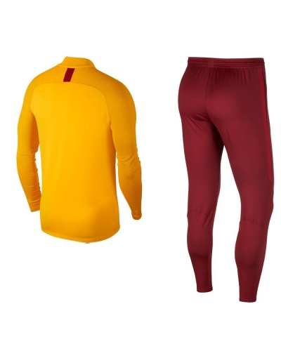 Details zu Galatasaray Nike Training Tracksuit 2019 20 Yellow Half zip Dri Fit polyester