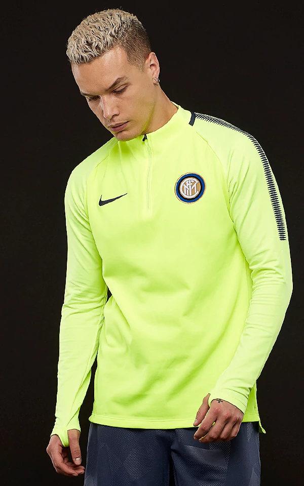 Sweatshirt Top Fc Nike Felpa Allenamento Giallo Inter Driil Squad wRf0xIPqpq