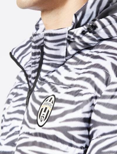 ... Bomber Piumino Giubbotto Juventus Originale adidas Uomo 2016 17 Bianco  Nero - Down Jacket Bomber Jacket ... ab268dda2025