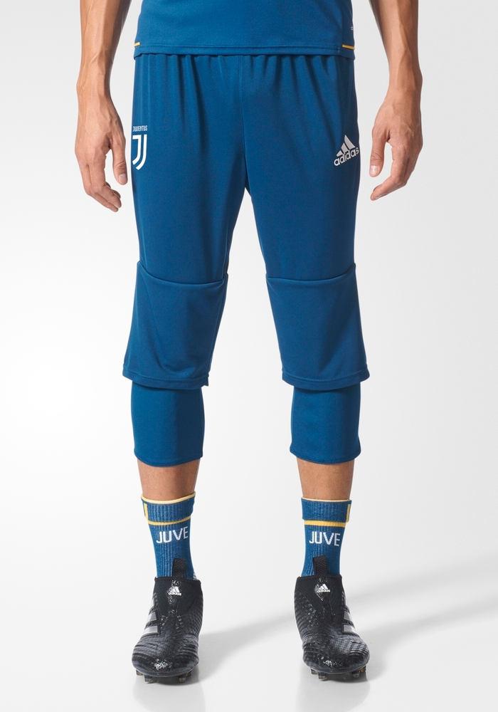 Juventus-Fc-Adidas-Pantaloncini-Shorts-3-4-Pants-Training-Uomo-Blu-2017-18