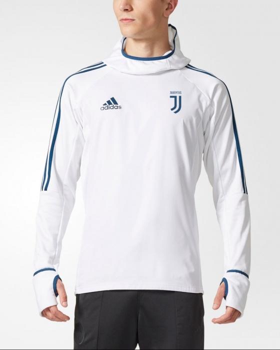 ... Juventus formación caliente TOP sudadera blanca original adidas 2017  18-formación hombres sudadera Juventus caliente ... 8133189b7d427
