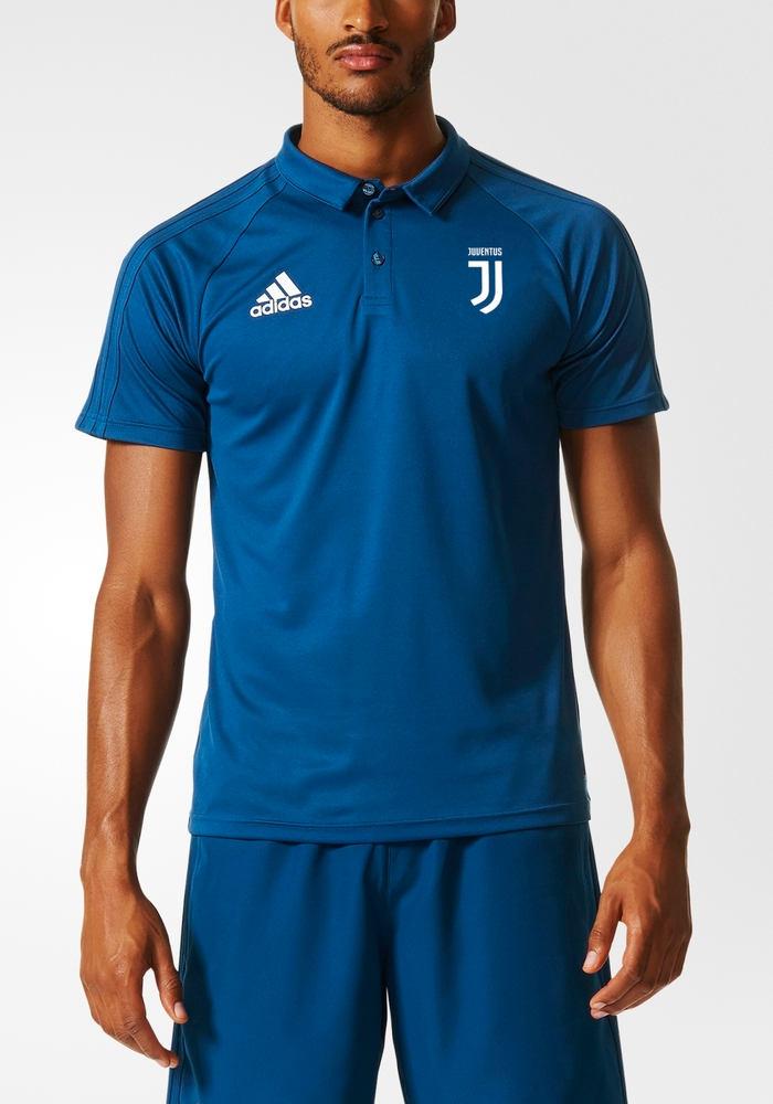 Juventus-Fc-Adidas-Climalite-Polo-Maglia-Shirt-Uomo-2017-18-Blu