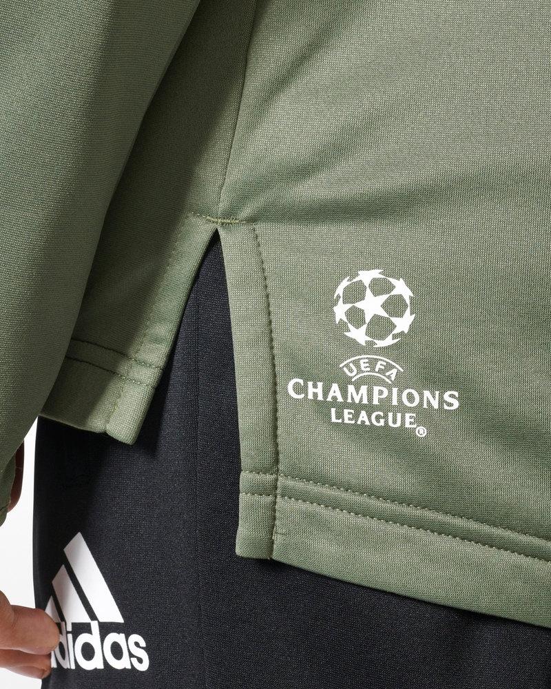 a008419b2ed Juventus Adidas Hybrid Top Uefa Felpa Allenamento Training Sweatshirt Verde