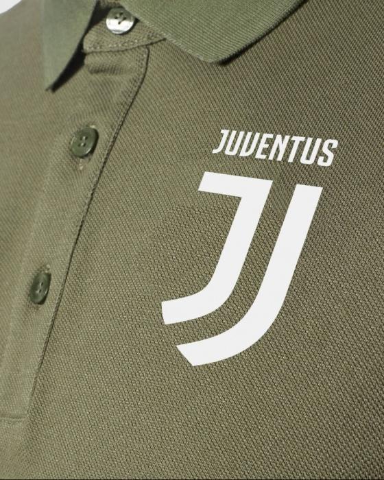 FC Juventus polo chemise Adidas Vert 2017 18 UEFA Hommes Coton   eBay
