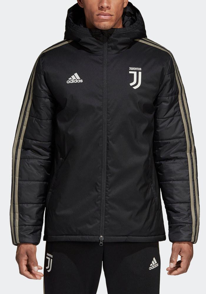 Juventus Fc Adidas Bomber Giubbino Piumino Giubbotto Nero Winter 2018 19 6  6 di 9 ... ddd57af94f55