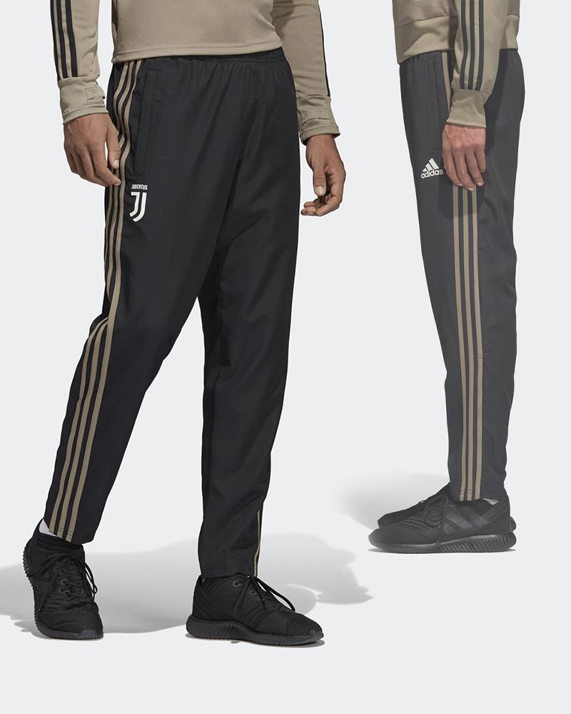 Juventus-Fc-Adidas-Pantaloni-tuta-Rappresentanza-Pres-pants-2018-19-Woven-Nero miniature 9