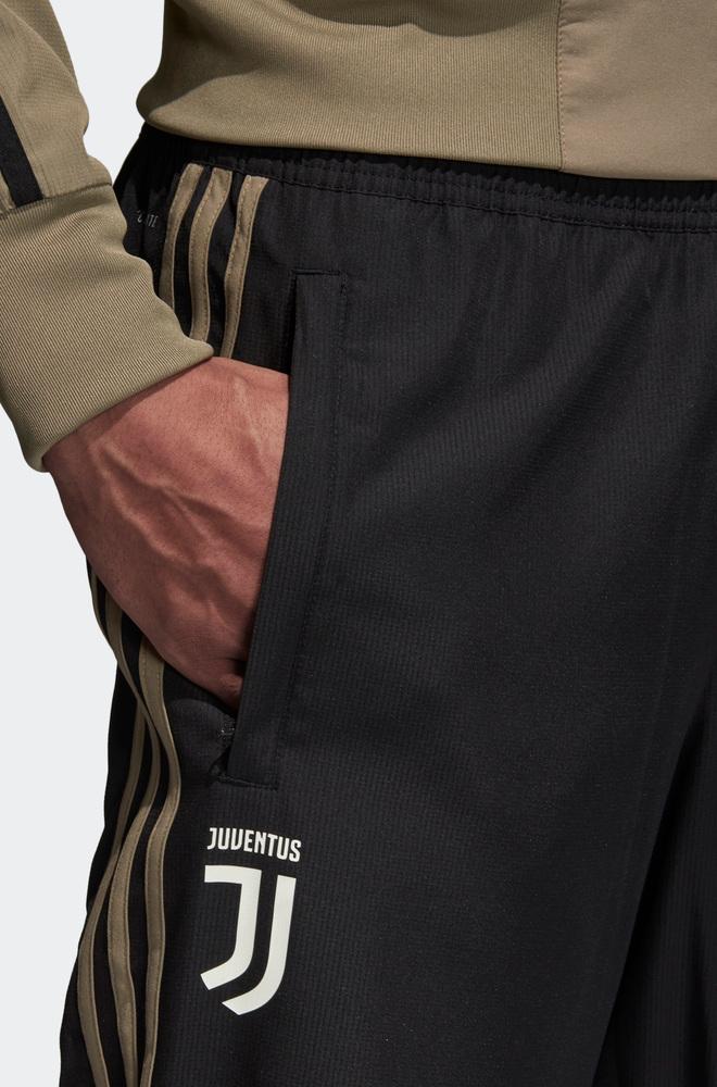 Juventus-Fc-Adidas-Pantaloni-tuta-Rappresentanza-Pres-pants-2018-19-Woven-Nero miniature 4