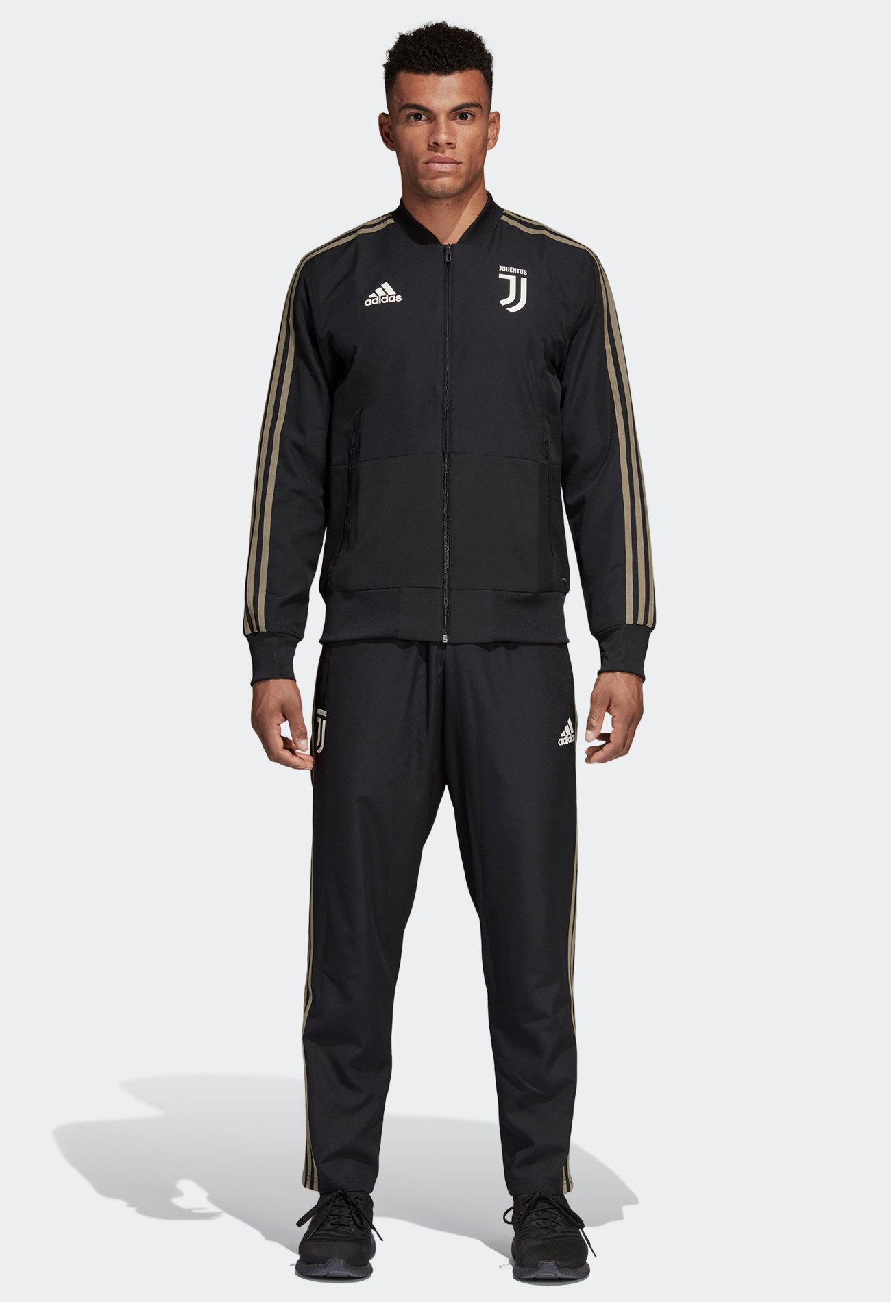 Sur In 19 Survetement Noir 2018 Juventus Stock Adidas Presentation Détails Turin xBdCWoer