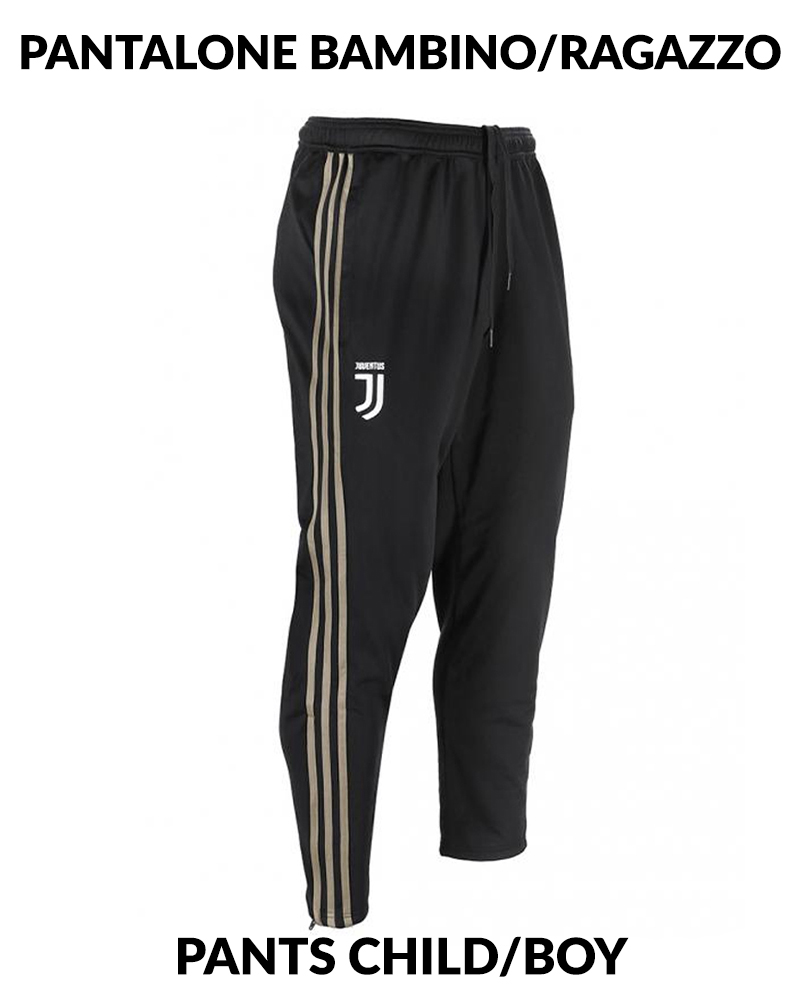 Fc Nero Adidas Versione Juventus Panchina Pants Pantaloni Tuta Pes d6w8S