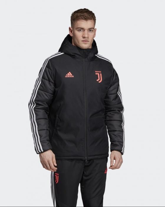 Juventus Turin Adidas Doudoune Down Winter Jacket Homme Noir