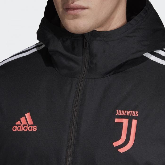 Détails sur Juventus Turin Adidas Doudoune Down Winter Jacket Homme Noir 2019 20